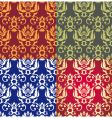 Floral background wallpaper vector
