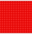 Red seamless background of plastic construction vector