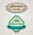 Retro vintage premium web design elements vector