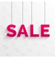 Sale tag  flat style design vector
