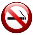 No smoking mark vector
