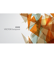 Warm tones geometric transparency vector