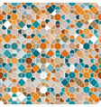 Colorful seamless mosaic pattern vector