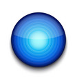 Abstract blue app icon vector