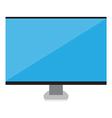 Smart computer icon vector
