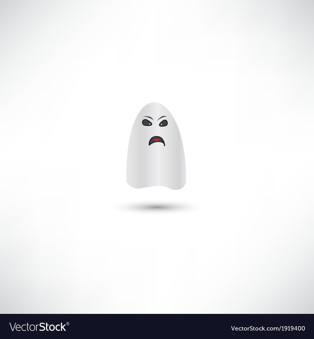 Ghost icon vector | Price: 1 Credit (USD $1)