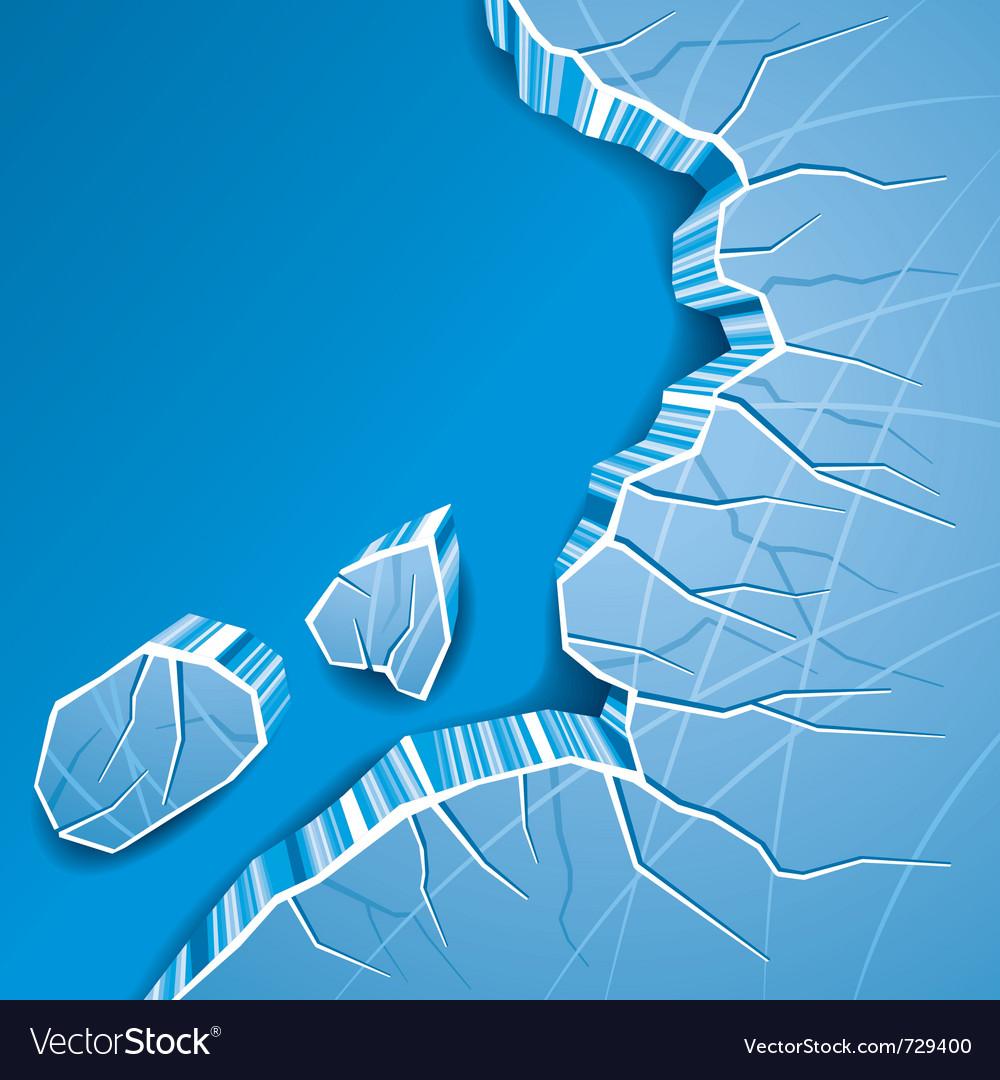 Ice background vector | Price: 1 Credit (USD $1)