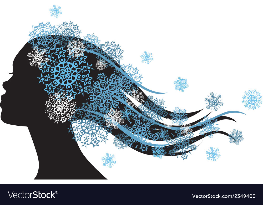 Snow queen vector | Price: 1 Credit (USD $1)