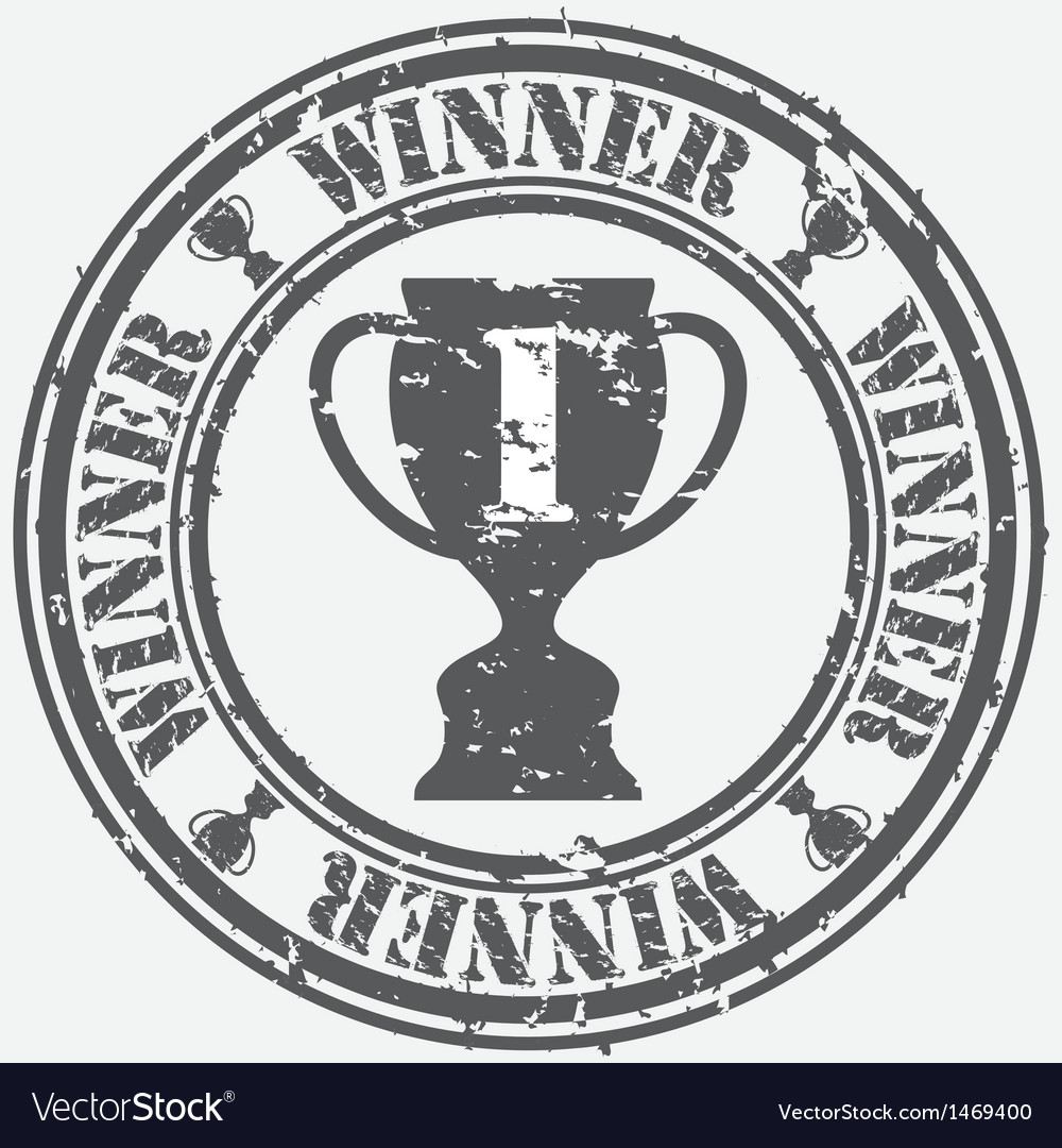 Winner stamp vector | Price: 1 Credit (USD $1)