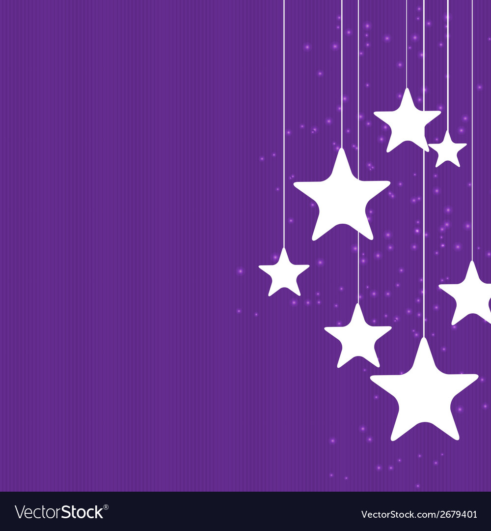 Abstract christmas star background vector | Price: 1 Credit (USD $1)