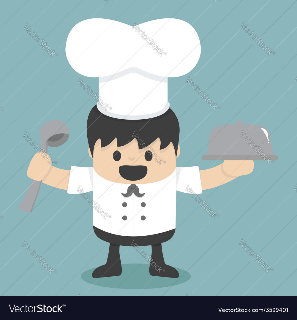 Chef vector | Price: 1 Credit (USD $1)
