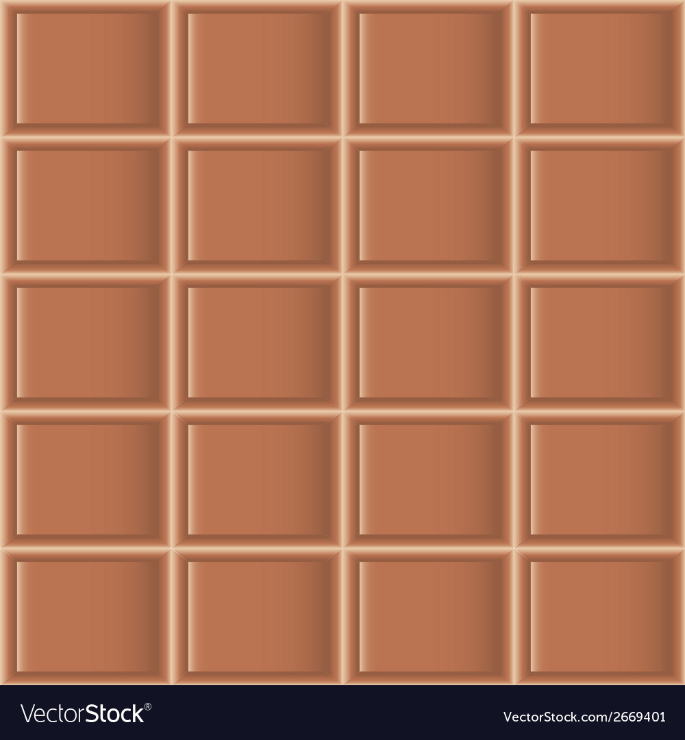 Chocolate tiles seamless texture vector | Price: 1 Credit (USD $1)