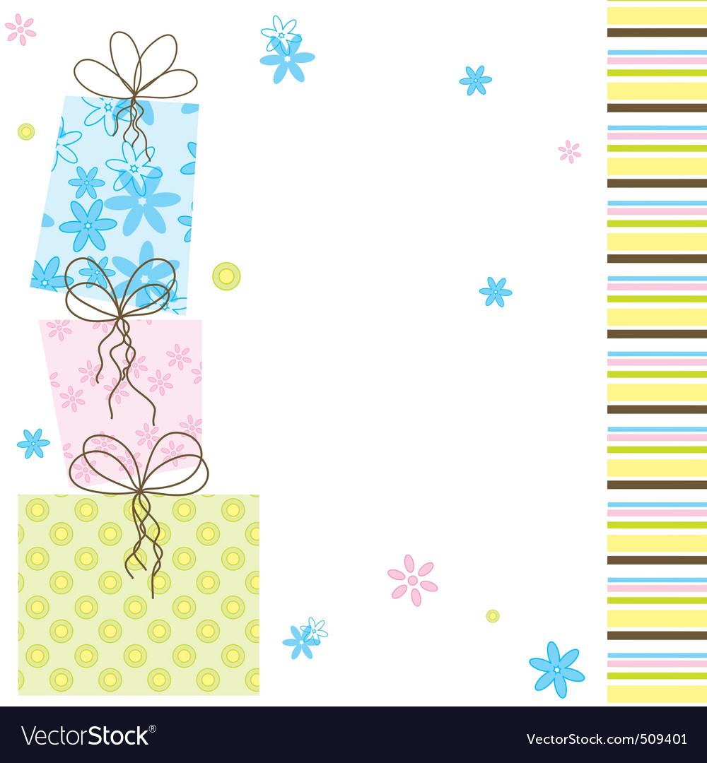 Girlie card vector | Price: 1 Credit (USD $1)