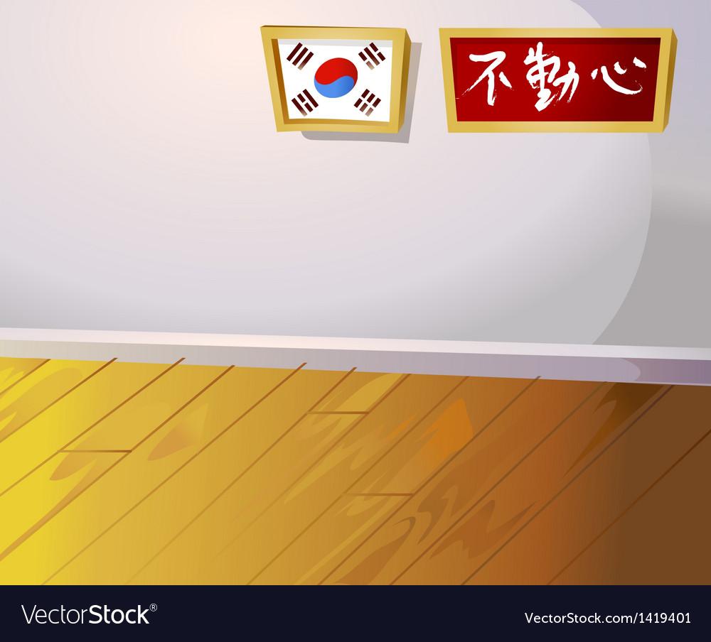 Korean home interior vector | Price: 1 Credit (USD $1)