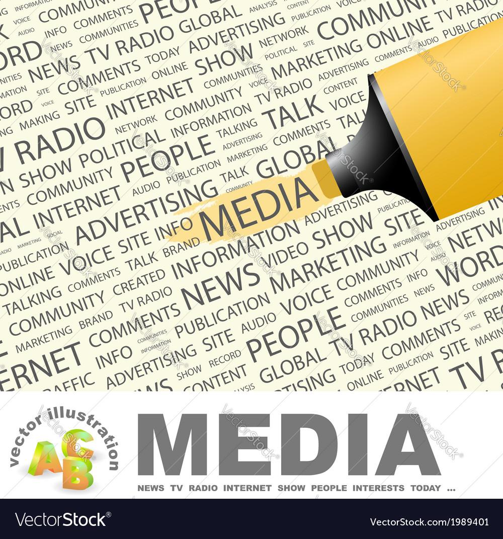 Media vector | Price: 1 Credit (USD $1)