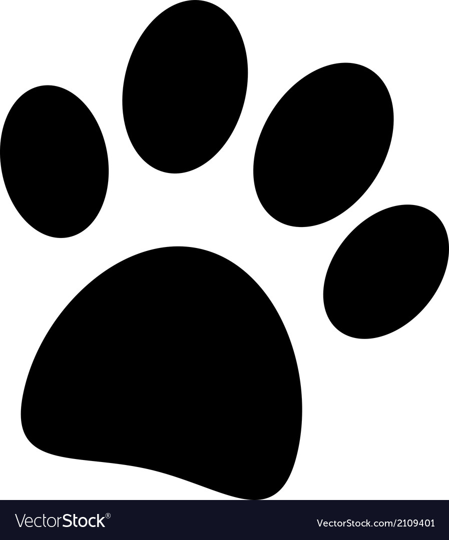 Paw icon vector | Price: 1 Credit (USD $1)