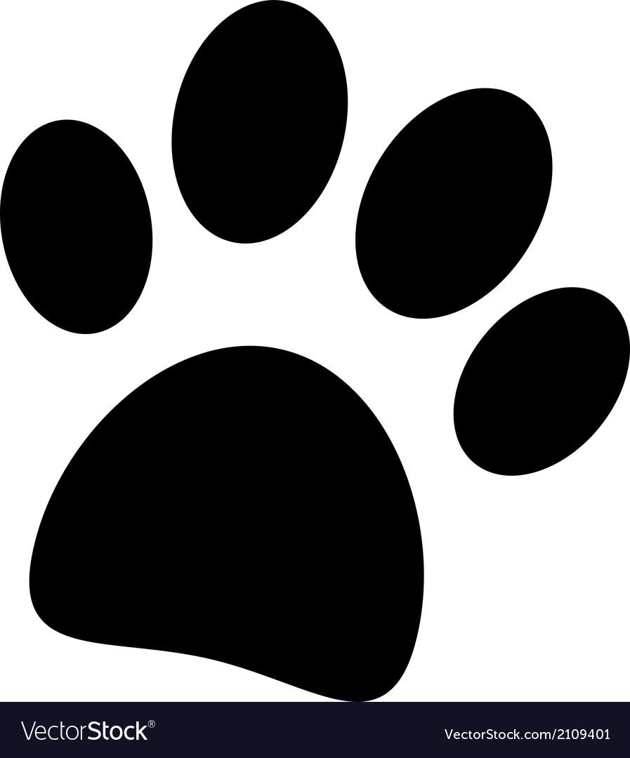 Paw icon vector | Price: 1 Credit (USD $1)