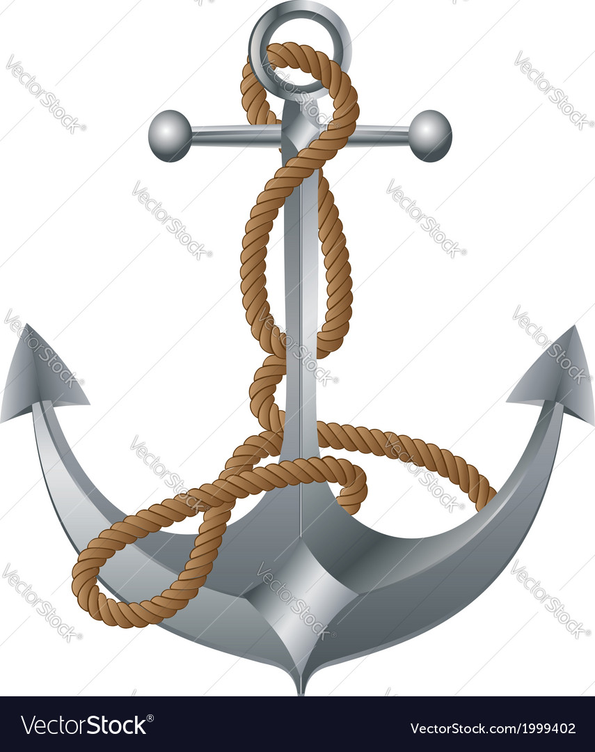 Metal anchor vector | Price: 1 Credit (USD $1)