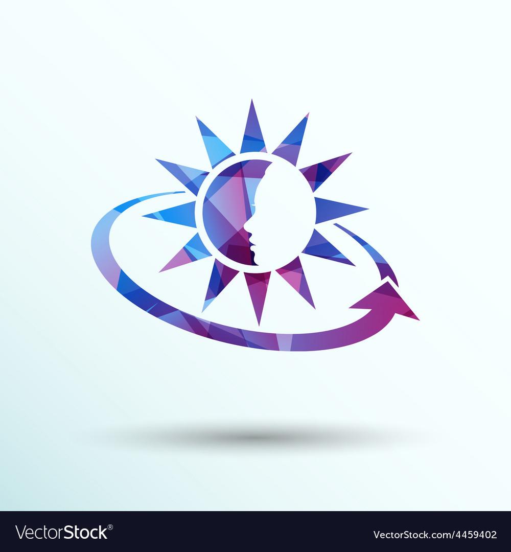 Sun cream containers icon sun tan vector | Price: 1 Credit (USD $1)