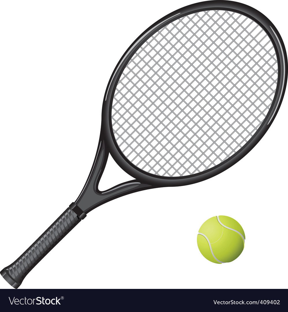 Tennis racket vector | Price: 3 Credit (USD $3)
