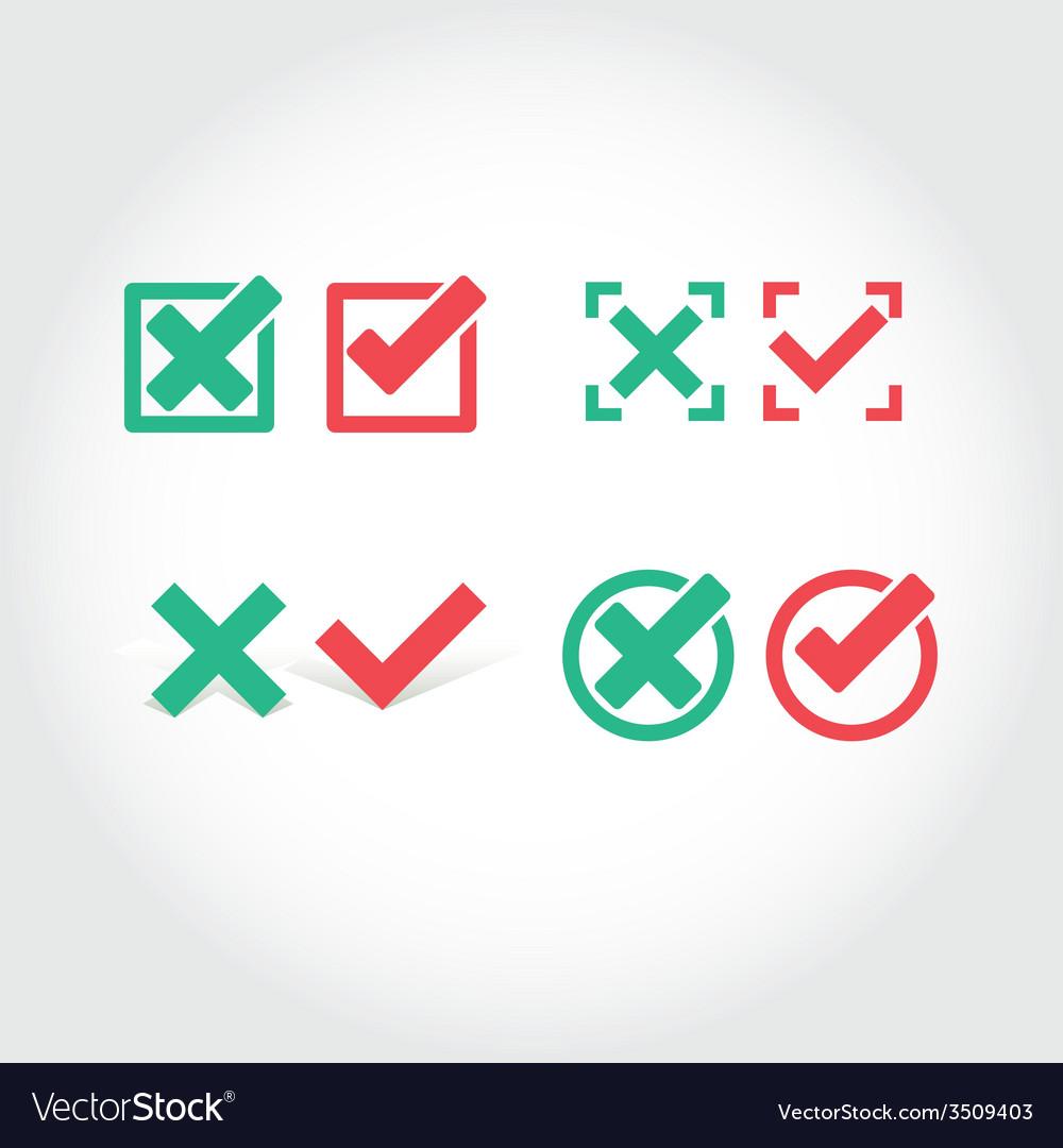 Check mark icon vector | Price: 1 Credit (USD $1)