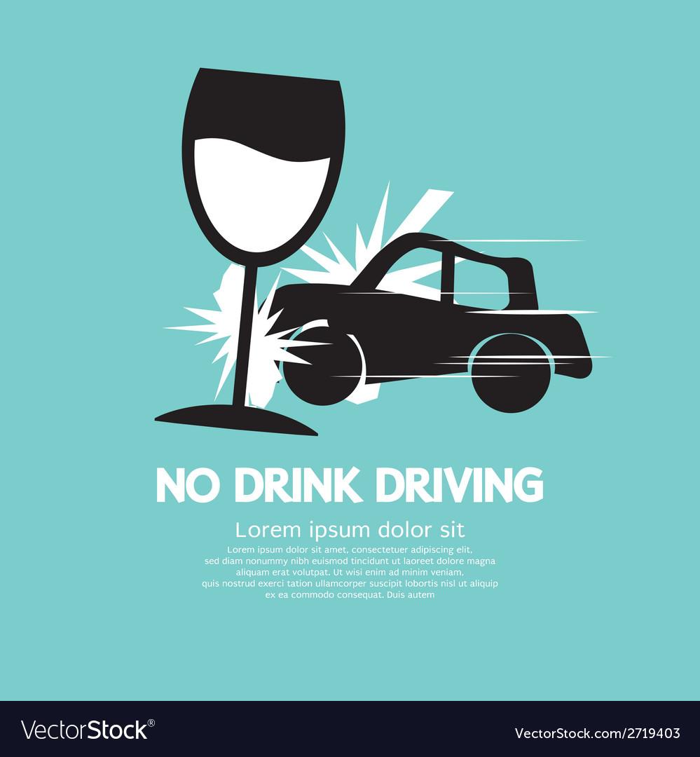 No drink driving vector   Price: 1 Credit (USD $1)