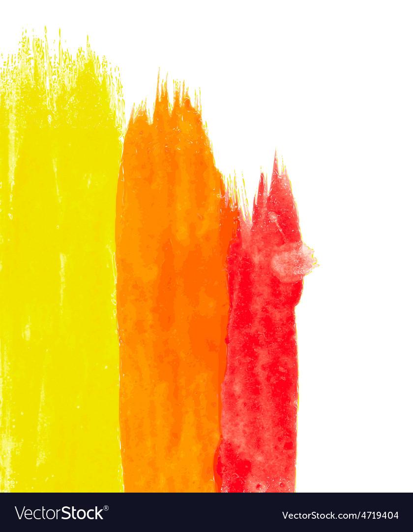Abstract watercolor splash element vector | Price: 1 Credit (USD $1)