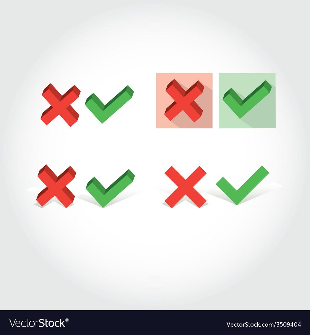 Check mark icon vector   Price: 1 Credit (USD $1)