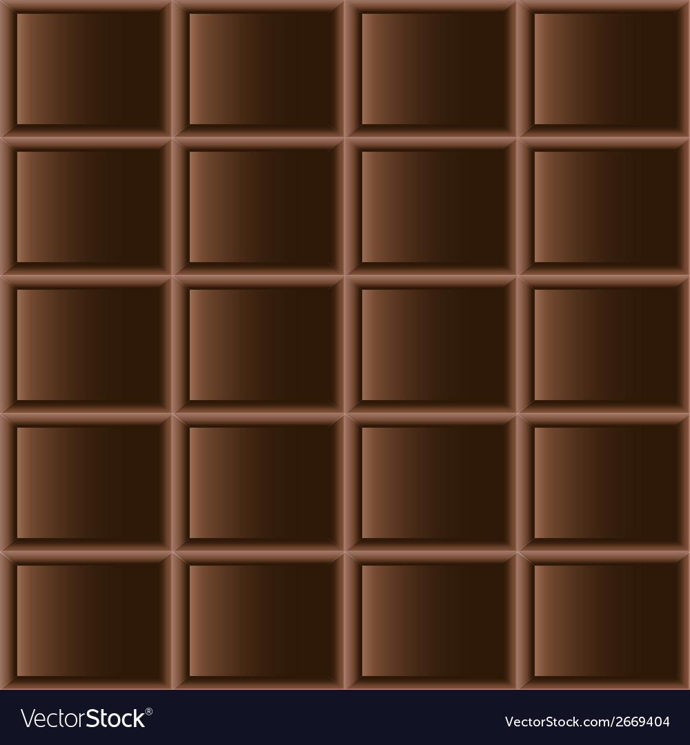 Chocolate dark tiles seamless texture vector | Price: 1 Credit (USD $1)
