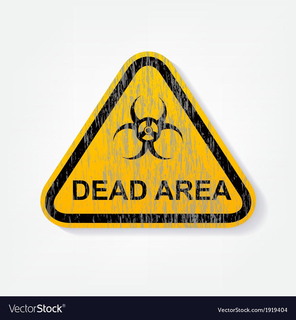 Radiation warning sign vector | Price: 1 Credit (USD $1)
