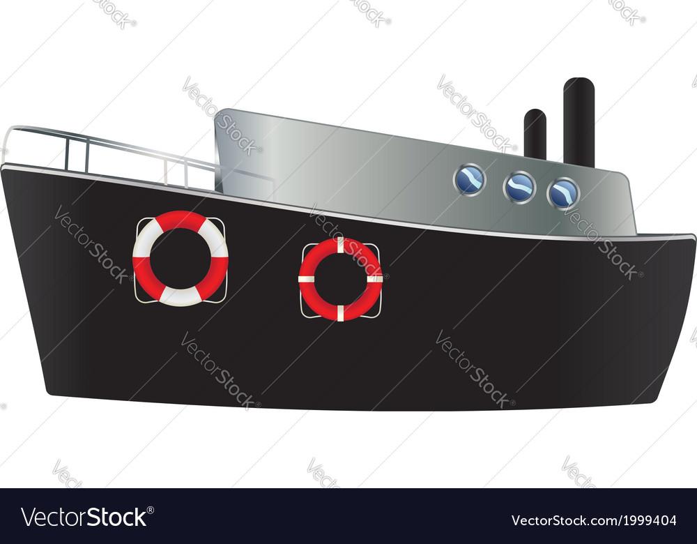 Steamship vector | Price: 1 Credit (USD $1)