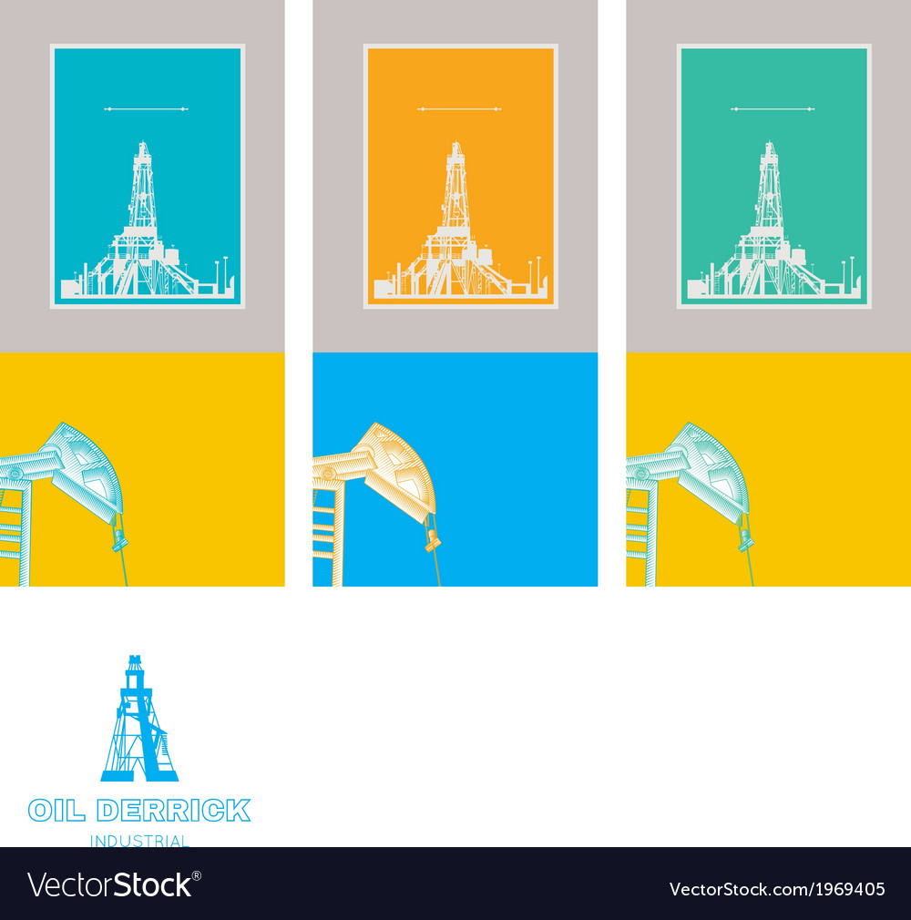 Flat technology icons over three cards vector   Price: 1 Credit (USD $1)