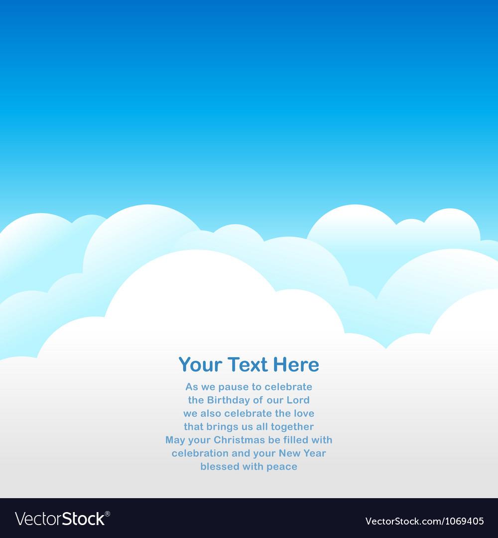 Sky background vector | Price: 1 Credit (USD $1)