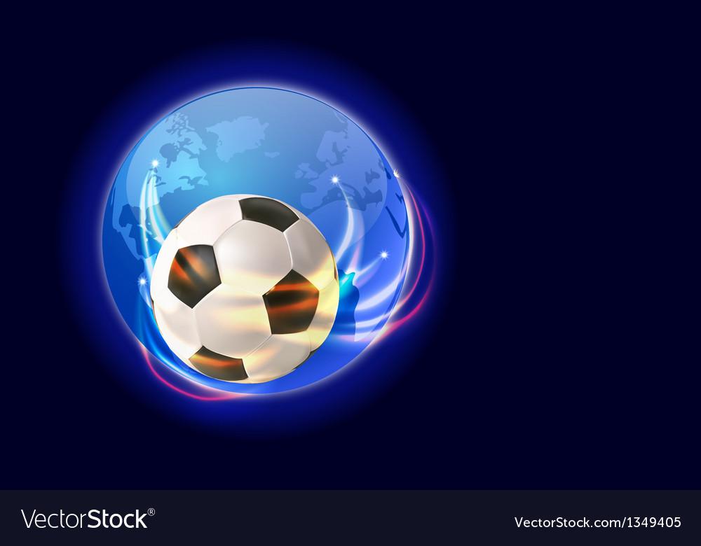 Soccer world 1 vector | Price: 1 Credit (USD $1)