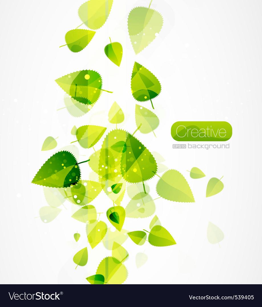 Sun leafs vector | Price: 1 Credit (USD $1)