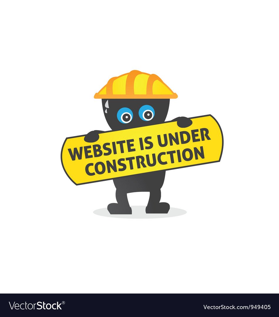 Website is under construction vector | Price: 1 Credit (USD $1)