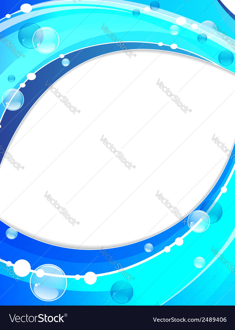 Abstract water waves vector   Price: 1 Credit (USD $1)