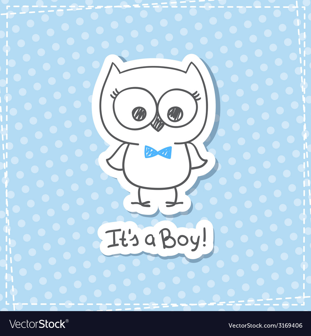 Baby owl vector | Price: 1 Credit (USD $1)