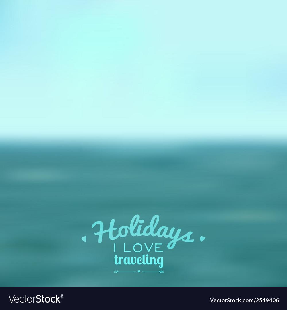 Blurred landscape background vector | Price: 1 Credit (USD $1)