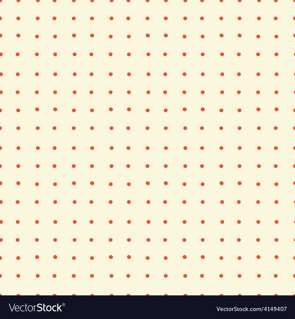 Abstract dotted retro seamless background vector | Price: 1 Credit (USD $1)