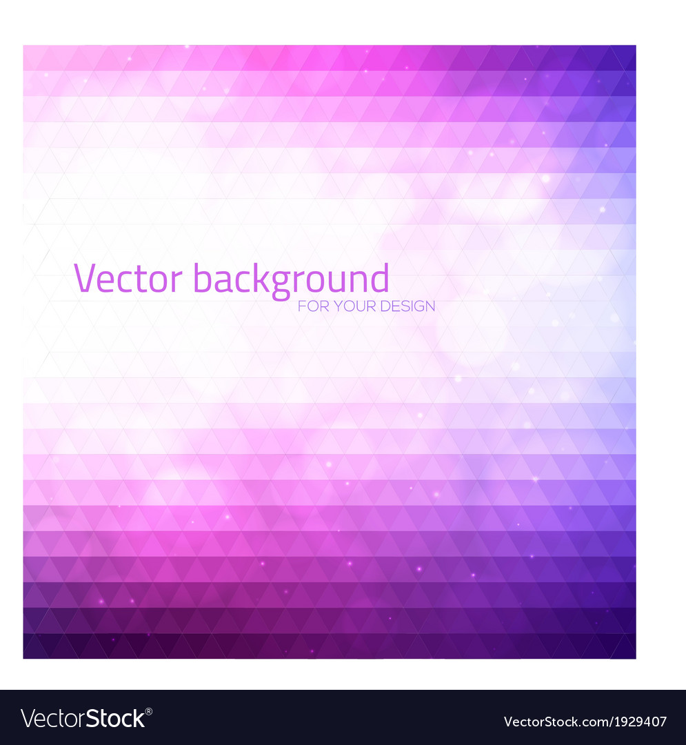 Abstract triangles background with bokeh vector | Price: 1 Credit (USD $1)