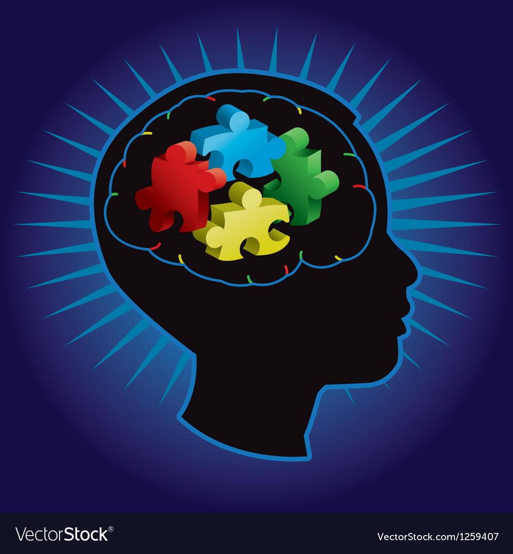 Autism child vector | Price: 1 Credit (USD $1)