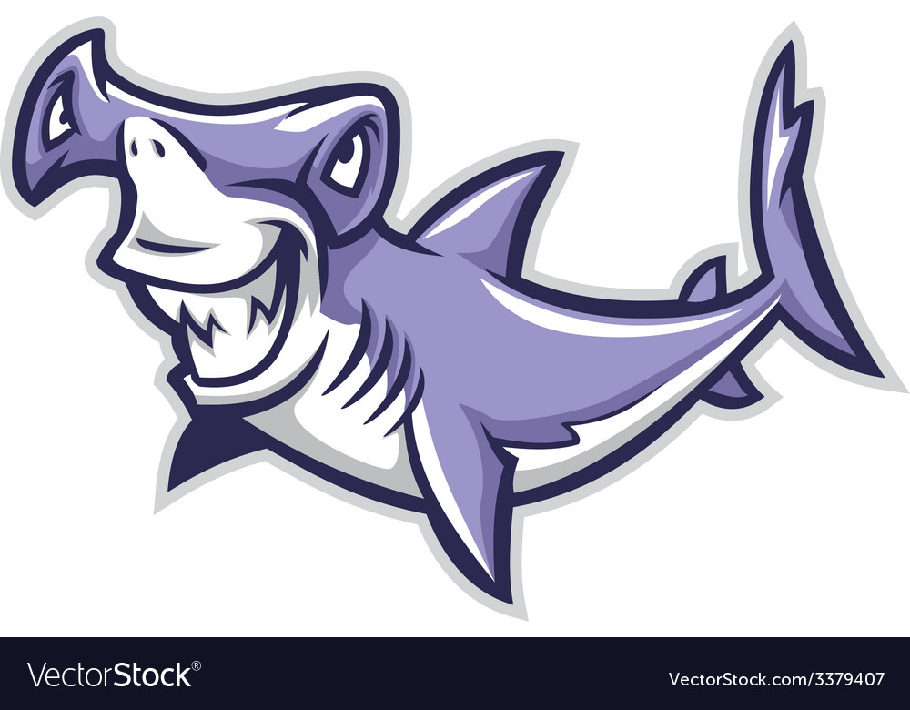 Hammerhead shark vector | Price: 3 Credit (USD $3)