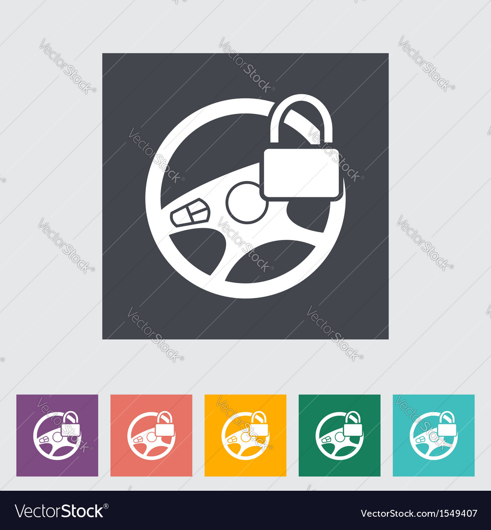Locked weel vector | Price: 1 Credit (USD $1)