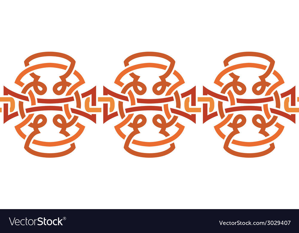 Seamless ornament tribal decorative element for vector | Price: 1 Credit (USD $1)