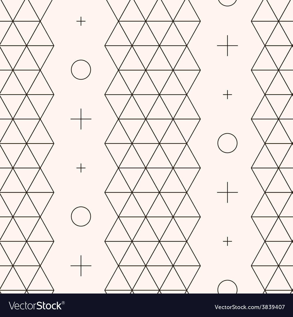 Seamless pattern geometric texture vector | Price: 1 Credit (USD $1)