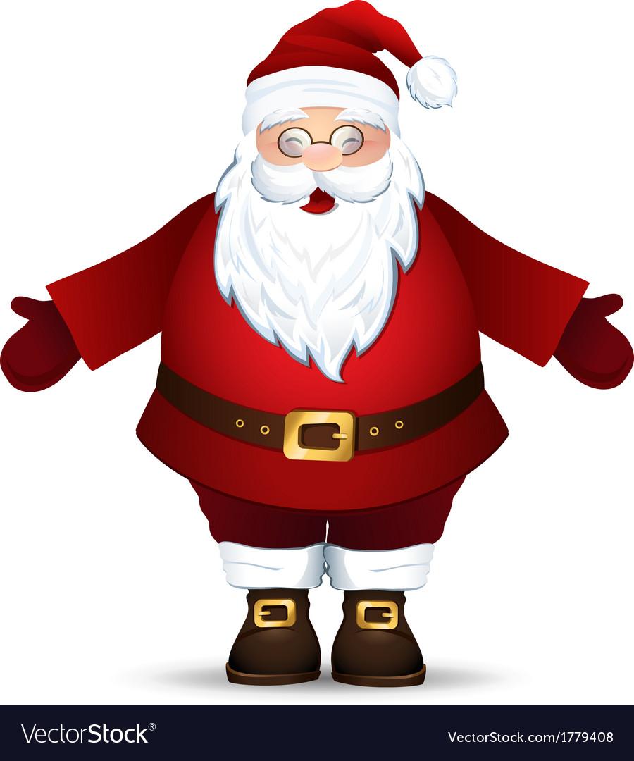 Merry santa claus vector | Price: 1 Credit (USD $1)