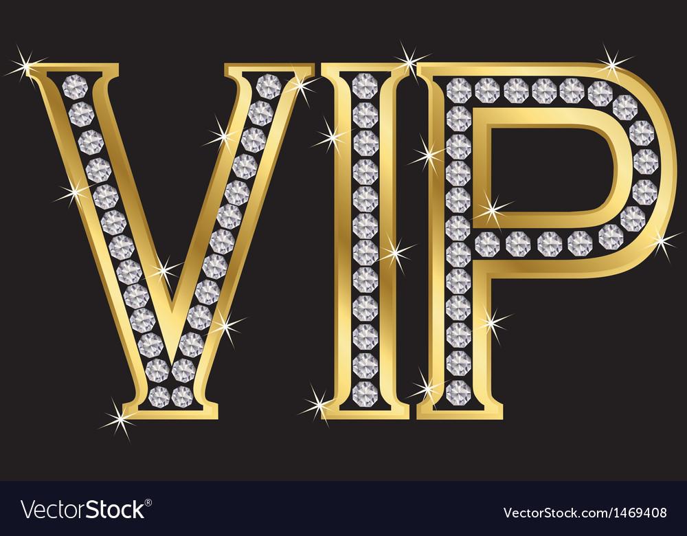 Vip badge vector | Price: 1 Credit (USD $1)