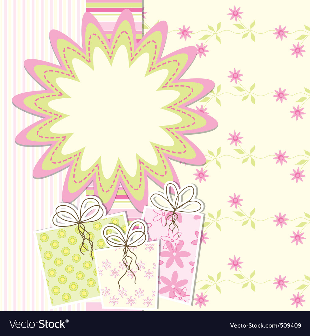 Artistic card vector | Price: 1 Credit (USD $1)