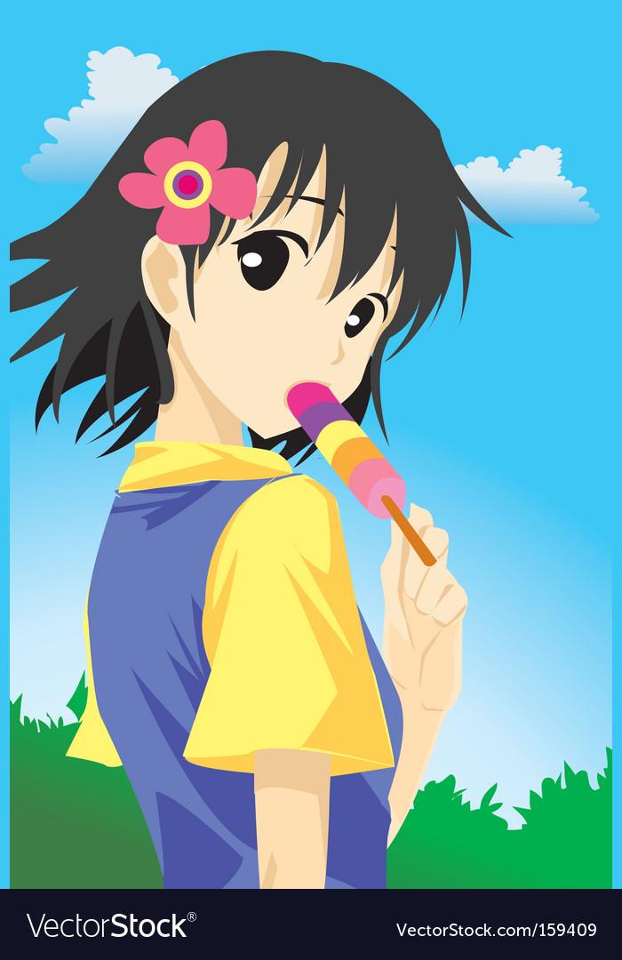 Ice-cream vector | Price: 1 Credit (USD $1)